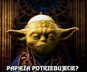 Yoda na papieża