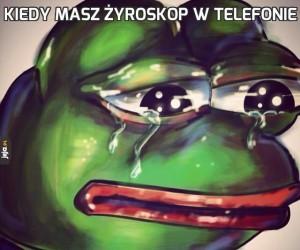 Kiedy masz żyroskop w telefonie