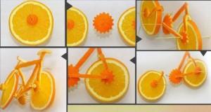 Pomarańczowy rower
