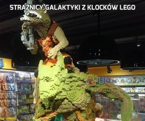 Strażnicy Galaktyki z klocków lego