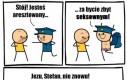 Policjant Stefan w akcji