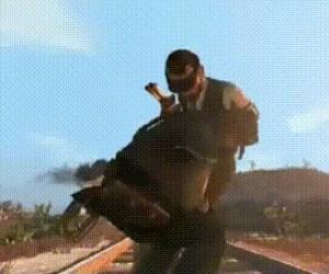 Ej, koniu... Co ty robisz, koniu?!