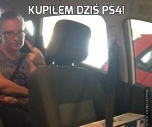 Kupiłem dziś PS4!