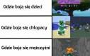 Czego boją się gracze Minecrafta