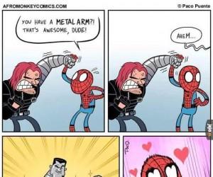 Metalowe ramię?!