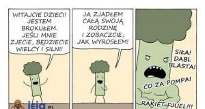 Jedzcie brokuły!