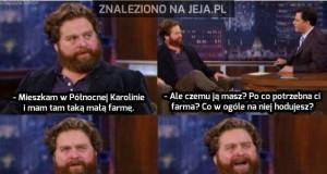 Zach i jego mała, zielona farma