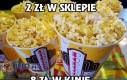 Cena popcornu