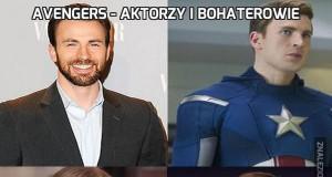 Avengers - Aktorzy i bohaterowie