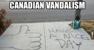 Wandalizm w Kanadzie