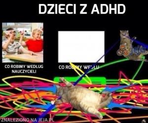 Dzieci z ADHD