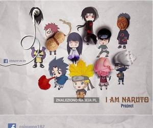 Bohaterowie z Naruto w niecodziennych odsłonach