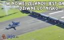 W Nowej Zelandii jest bardzo dziwne lotnisko...