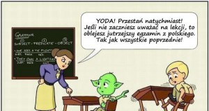 Niegrzeczny Yoda