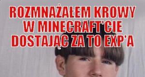 Rozmnażałem krowy w Minecraft'cie..