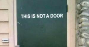 To nie są drzwi
