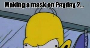 Maski w Paydayu