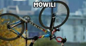 Mówili - z rowerem będzie szybciej