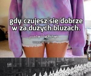 Bluzy oversize