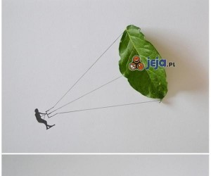 Sztuka z liści