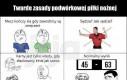 Twarde zasady podwórkowej piłki nożnej