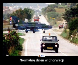 Normalny dzień w Chorwacji