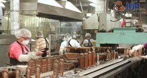 Tymczasem w fabryce czekolady