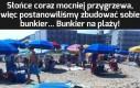 Bunkier... Bunkier na plaży
