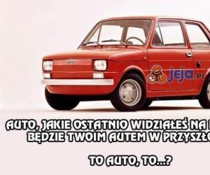 Jakie auto będziesz miał w przyszłości?