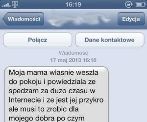 Mama usuwa Internet