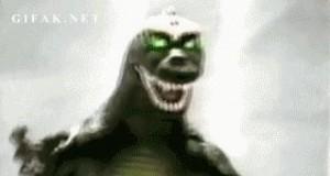 Godzilla potrafi przestraszyć