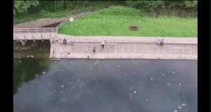 Automatyczne lądowanie drona przez niski poziom baterii
