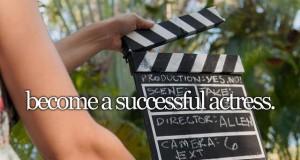 Być wspaniałą aktorką
