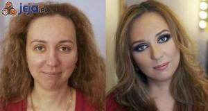 Makijaż naprawdę potrafi zmienić człowieka