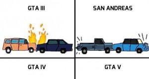 Ewolucja fizyki w GTA