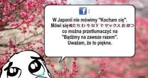 """W Japonii nie mówimy """"Kocham cię"""""""
