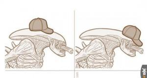 Jeżeli obcy nosiłby czapkę, jak by ją nosił?