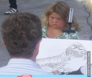 Może portrecik dla słodkiej dziewczynki?