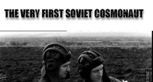 Pierwszy sowiecki kosmonauta