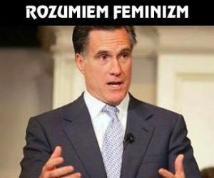 Rozumiem feminizm...