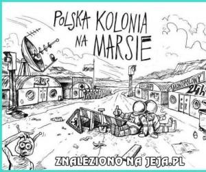 Polska kolonia na Marsie