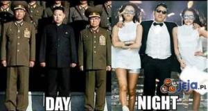 Korea za dnia. Korea w nocy!