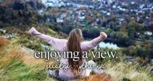 Cieszyć się pięknym widokiem