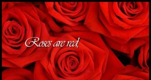 Roses are...