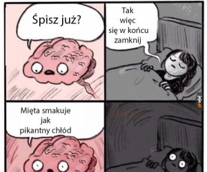 Ja chcę spać!
