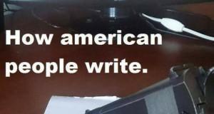 Jak piszą Amerykanie