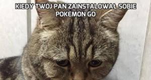 Kiedy twój pan zainstalował sobie Pokemon GO