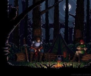 Nocny obóz