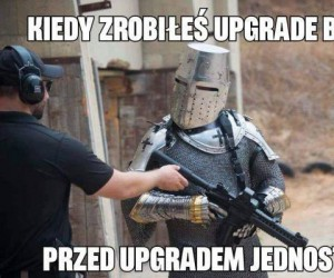 Upgrade broni w kuźni