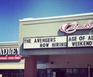 Avengersi zatrudniają?